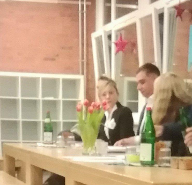 Podium Eilbeker 112.Stadtteilgespräche